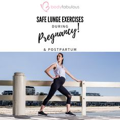 Safe Pregnancy Workout – Lunges & Squats