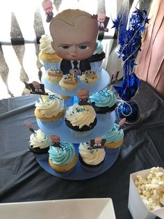 156 best boss baby party images in 2018 Boys First Birthday Party Ideas, Baby Boy 1st Birthday Party, Boss Birthday, Birthday Party Games, Baby Bash, Boss Baby, First Birthdays, Decoration For Ganpati, Bernardo