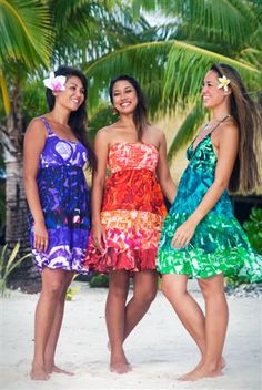 TAV Resort Wear - my connection for island-style clothing from Rarotonga, Cook Islands.