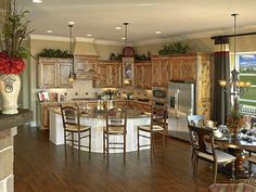 The Villas at Craig Ranch Kitchen and Breakfast Nook- McKinney, TX by K. Hovnanian® Homes®