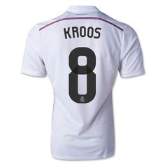 f89000225a1 Toni Kroos  8 Real Madrid 15 16 Home Jersey Real Madrid 2014