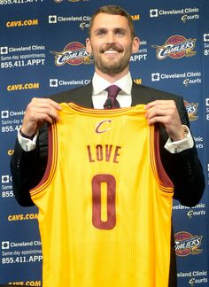 Kevin Love - The Cleveland Cavaliers