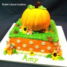 pumpkin patch birthday cakes - Yahoo Image Search Results