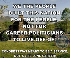 Term limits for Congress!
