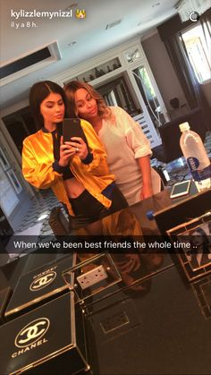 Kylie Jenner and Blac Chyna
