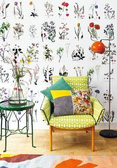 Botanische muurbloempjes - Botanical wallflowers Kijk op www.101woonideeen.nl #tutorial #howto #diy #101woonideeen #botanisch #botanical #muurbloempjes #wallflowers