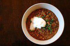 cook.eat.think.: lentil millet chili