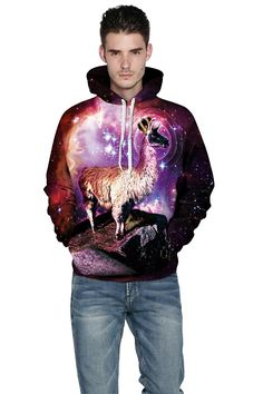 Cfanny Unisex Cheshire Cat Printed Big Pockets Hoodie Sweatshirt for Couples ** Visit the image link more details.
