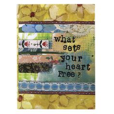 What sets your heart free? Small photo album holds 36 photos from Kally Rae Roberts
