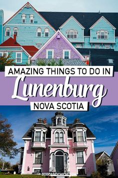 Amazing Things to do in Lunenburg Nova Scotia (Complete Travel Guide) <br> See all the incredible things to do in Lunenburg, Nova Scotia, a UNESCO World Heritage Site and charming town that makes the perfect getaway. Canada Destinations, Road Trip Destinations, Lunenburg Nova Scotia, Lunenburg Canada, Dartmouth Nova Scotia, Ecuador, Nova Scotia Travel, Alaska, Atlantic Canada