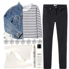 A fashion look from October 2014 featuring Acne Studios jeans, Converse sneakers and Disney Couture earrings. Browse and shop related looks.