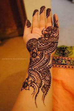 henna, mehendi, idea, design, palm