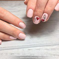 110 идей дизайна ногтей к Дню святого Валентина. Маникюр с сердечками, фото
