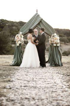 altar para boda en jardin - Buscar con Google