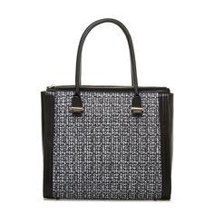 Bonsall - ShoeDazzle - Tweed handbag. Super chic!