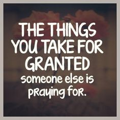 Be grateful not hateful!