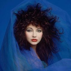 "cheque-republic: "" Music Artists 6 - Kate Bush Favourite Song: Hounds of Love Other Good Songs: Running Up That Hill (A Deal With God) Cloudbusting Night of the Swallow "" Hounds Of Love, Photo Star, New Wave, Portraits, Music Photo, Female Singers, Celebs, Celebrities, Record Producer"