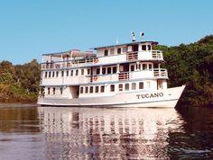 Barco-Hotel do Amazonas