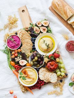 A beautiful & festive platter for summer celebrations >>