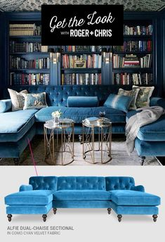 Amazing custom sectional options by Roger + Chris.
