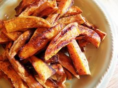 Healthy Spiced Sweet Potato Fries | Inspired By Family Magazine