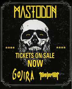 NEWS: The rock/metal band, Mastodon, have added dates to their U.S. spring headlining tour with Gojira and Kvelertak. You can check out the dates and details at http://digtb.us/mastodon2014