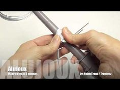 How to make a ring in 5 minutes.. AluJoux Ring Mandrel / TrenDzign /  HobbyTrend