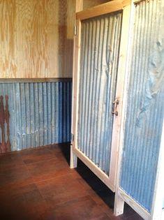 Rustic Farmhouse Bathrooms | Found on blessedoakfarm.blogspot.com