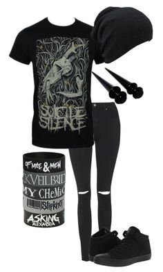 single & lonley af by bands-are-my-savior on Polyvore featuring polyvore, fashion, style, Topshop, Converse, women's clothing, women's fashion, women, female, woman, misses and juniors
