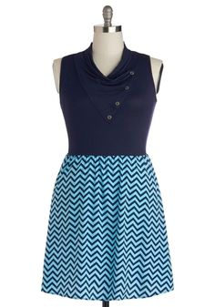 ModCloth Coastal Crush Dress in Plus Size