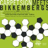 Carpet Sign meets Bikkembergs