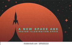 Retro Computer: vetores, imagens e arte vetorial stock | Shutterstock News Space, Retro Futuristic, Space Age, Abstract Backgrounds, Presentation, Explore, Shutter, Banners, Illustration