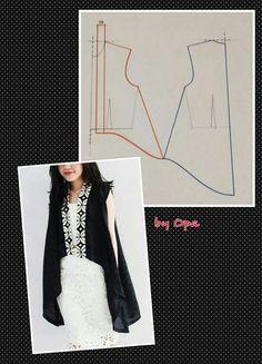 Pattern Vest Diy Clothes