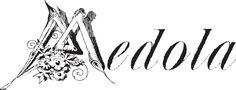 A 19th century font called Medola WF from the Walden Font Co. It is part of the New Victorian Printshop set of fonts.