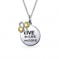 AYLLU Live Life Necklace | Shop Bling Jewelry