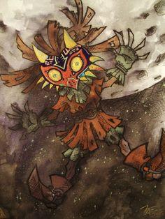 travisshanksart:Skull Kid Fan ServiceLegend of Zelda: Majora's...