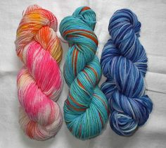 In the Spring issue of Knitty, Julie Theaker's extensive article goes through the ins and outs of how to dye your yarn and the the colors you want using th