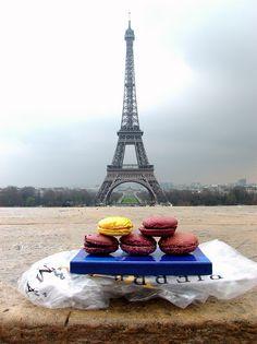 ALQUIMIA DA COZINHA: Macarons a delicia das delicias...que se encontra em Paris...