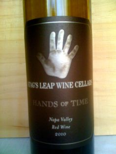 """January 9th - Stag's Leap """"Hands of Time"""""""