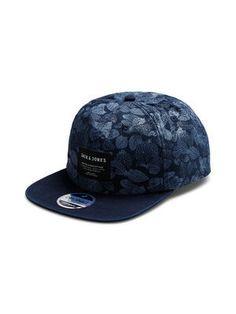 PRINTED CAP, Navy Blazer