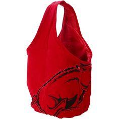 Arkansas Razorbacks Women's Big Logo Hobo Bag - $23.99