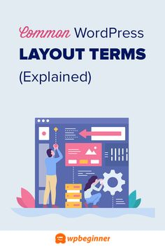 Want to learn the terms used in WordPress layouts? Use this quick reference to learn more about WordPress layout terms and how to use them on your website. Wordpress Org, Social Media Tips, Layouts, Blogging, Infographic, Website, Learning, Business, Infographics