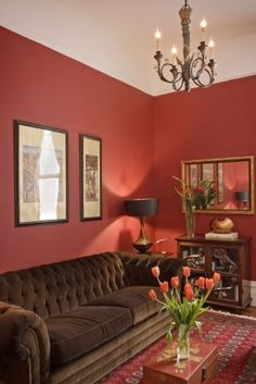 1000 images about brown furniture living room on for Red brown and black living room