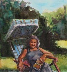 Belinda Del Pesco, Poetry in the garden