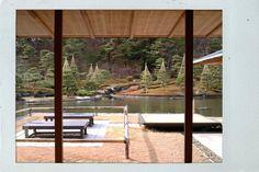 Shirakawa Fukushima  Nanko(South Lake) garden Japanese tea room