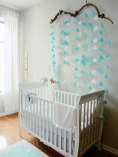 Small Space Solutions: Gia's Nursery Nook in the Dining Room