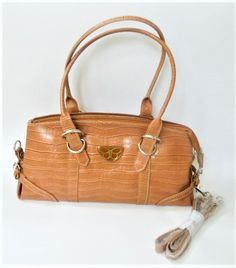 297c636364ce Circle Strap Handbag - Light Brown. Faux leather