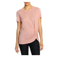 Knot Tee from Joe Fresh. Tie a new style into your wardrobe with our knot tee. It's gathered at the hem in a cool knot to keep you on-trend to a tee.  Only $19.