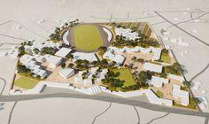Galería - Francis Kéré diseña campus educacional para la Fundación Mama Sarah Obama en Kenia - 4