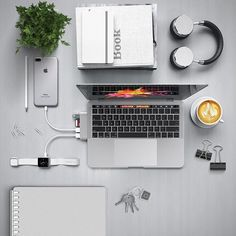 Our Type-C Hub is the perfect solution to adding more ports to your MacBook Pro #MetallicSeries #LifeMadeEasy Product link in bio!